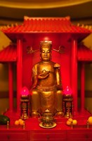God of General Guan Shrine in a Corporate Office, Shanghai, China by Keren Su - various sizes - $41.49