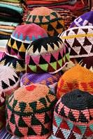 Colorful Head Wear For Sale, Luxor, Egypt Fine Art Print