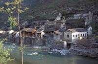 Ancient Town of Ningchang on the Yangtze River, Three Gorges, China by Keren Su - various sizes, FulcrumGallery.com brand