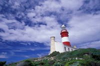 Agulhas Lighthouse, South Africa by Walter Bibikow - various sizes