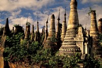 Ancient Ruins of Indein Stupa Complex, Myanmar by Keren Su - various sizes