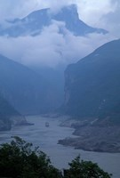 Entrance to Qutang Gorge, Three Gorges, Yangtze River, China by Keren Su - various sizes