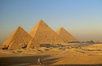 Giza Pyramid, Giza Plateau, Old Kingdom, Egypt Fine Art Print