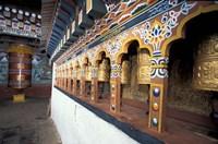 Dzong Entrance, Bhutan Fine Art Print
