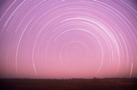 Africa, Botswana, Linyanti Swamps. Star trails by Stuart Westmorland - various sizes
