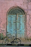 Door in Luxor, Egypt Fine Art Print