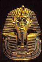 Gold Death Mask, Cairo, Egypt Fine Art Print