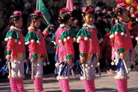 Children's Performance Celebrating Chinese New Year, Beijing, China by Keren Su - various sizes
