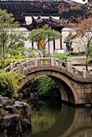 China, Jiangsu, Suzhou, North Temple Pagoda, path Fine Art Print
