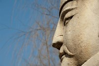 Detail of warrior statue, Changling Sacred Way, Beijing, China by Cindy Miller Hopkins - various sizes