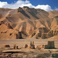 Afghanistan, Bamian Valley, Ancient Architecture by Ric Ergenbright - various sizes
