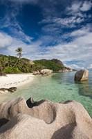 Anse Source D'Argent Beach, L'Union Estate Plantation, La Digue Island, Seychelles by Walter Bibikow - various sizes - $45.99