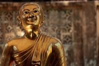 Chaukhtatgyi Temple with golden figure, Yangon, Burma, Myanmar by Alida Latham - various sizes