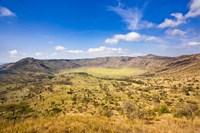 Crater, Queen Elizabeth National Park, Uganda Fine Art Print