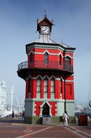 Historic Clock Tower, V and A Waterfront, Cape Town, South Africa by David Wall - various sizes, FulcrumGallery.com brand