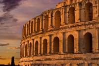 Famous El Jem Roman Amphitheater, El Jem, Tunisia, Africa by Bill Bachmann - various sizes, FulcrumGallery.com brand