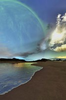 Beautiful skies shine down on this cosmic seascape by Corey Ford - various sizes