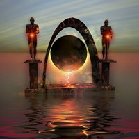 A portal to another dimensional world by Corey Ford - various sizes