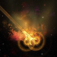 Stars and gases collide to form this spacial phenomenon by Corey Ford - various sizes