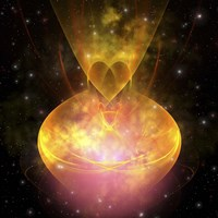 Stars are born in this hourglass shaped nebula out in the cosmos by Corey Ford - various sizes