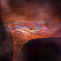 The vortex field of a black hole by Corey Ford - various sizes