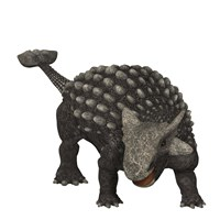 Ankylosaurus was an armored dinosaur from the Creataceous Period by Corey Ford - various sizes, FulcrumGallery.com brand