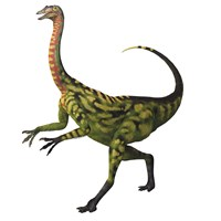 Deinocheirus, a large carnivorous dinosaur by Corey Ford - various sizes, FulcrumGallery.com brand