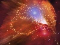 Orange Nebula by Corey Ford - various sizes