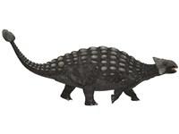 Ankylosaurus, an armored dinosaur from the Cretaceous Period Fine Art Print