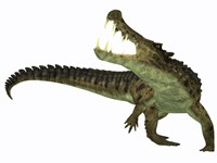Kaprosuchus is an extinct genus of crocodile by Corey Ford - various sizes - $47.99