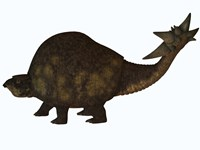 A large glyptodont from the Pleistocene epoch by Corey Ford - various sizes