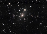 Abell 2666 Galaxy cluster Fine Art Print