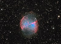 M27 the Dumbbell nebula Fine Art Print