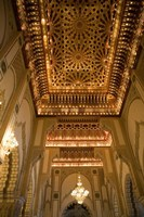 Gold Ceiling, Hassan II Mosque, Casablance, Morocco by Walter Bibikow - various sizes - $36.99