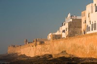 MOROCCO, Atlantic Coast, ESSAOUIRA: Town, Sunset Fine Art Print