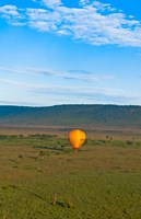 Kenya, Maasai Mara, hot air ballooning at sunrise by Bill Bachmann - various sizes - $37.49