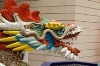 Dragon Head, Goddess of Mercy temple, Hong Kong by Cindy Miller Hopkins - various sizes