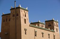 Hotel Kasbah Asmaa Exterior, Midelt, Middle Atlas, Morocco by Walter Bibikow - various sizes - $40.99