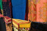 Moroccan Fabric, Dades Gorge, Dades Valley, Morocco by Walter Bibikow - various sizes, FulcrumGallery.com brand