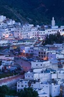 Morocco Moulay, Idriss, Town View by Walter Bibikow - various sizes, FulcrumGallery.com brand
