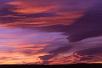 Pink Desert clouds, sunset, MOROCCO Fine Art Print