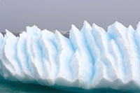 Iceberg pattern off the western Antarctic peninsula Fine Art Print