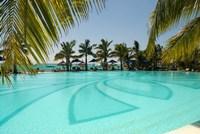 Mauritius, Le Morne. Paradis Hotel and Golf Club Fine Art Print
