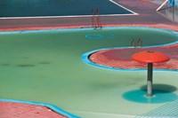 MOROCCO, CASABLANCA, AIN DIAB resort Pool Detail by Walter Bibikow - various sizes