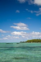 Ile Aux Cerf, East end of Mauritius, Africa Fine Art Print
