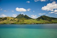 Lion Mountain, South East Mauritius, Africa Fine Art Print
