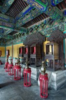 Interior of West Annex Hall, Temple of Heaven, Beijing, China by Adam Jones - various sizes
