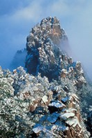 Landscape of Mt Huangshan (Yellow Mountain), China by Keren Su - various sizes - $41.49
