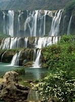 Jiulong Waterfall, Qujing, Luoping County, Yunnan Province, China by Charles Crust - various sizes