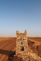 Mauritania, Adrar, Chinguetti, Path Fine Art Print